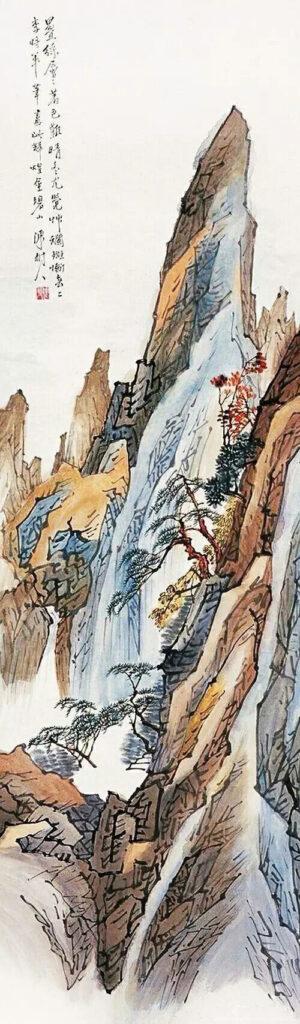 Compromising Spirit of Lingnan School of Painting  Chen Shuren 陈树人