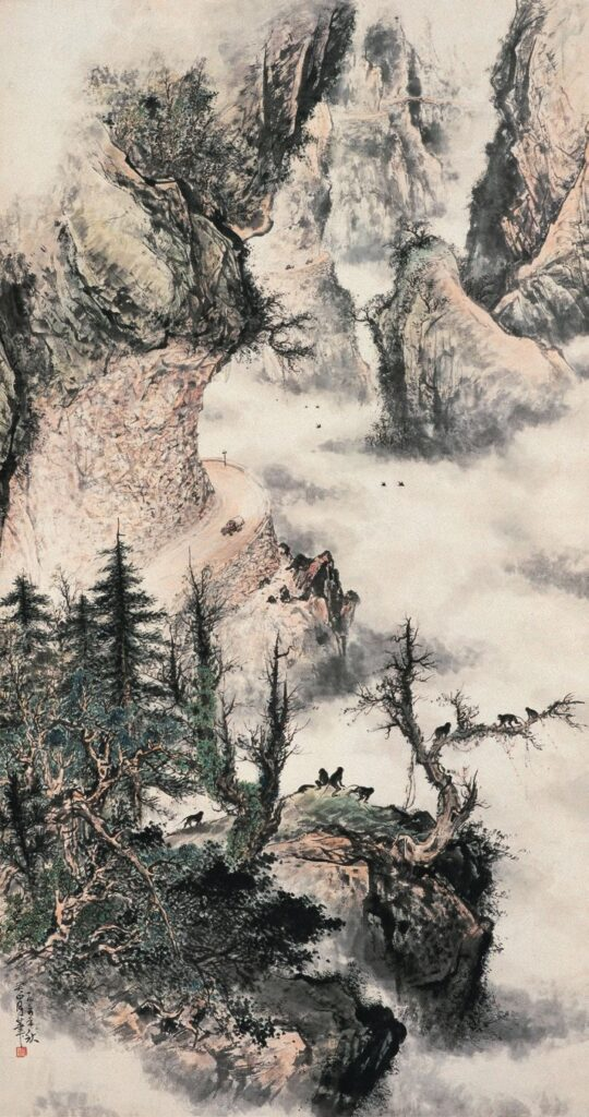 Compromising Spirit of Lingnan School of Painting  Guan Shanyue's Newly Highway