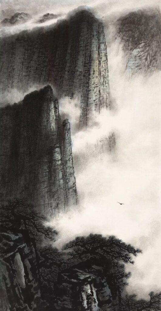 Compromising Spirit of Lingnan School of Painting  Chen Jinzhang 陈金章