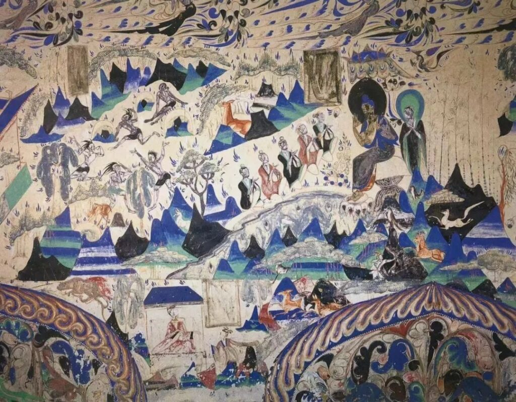 Dunhuang frescoes 敦煌壁画 The Image Colour in Chinese Painting